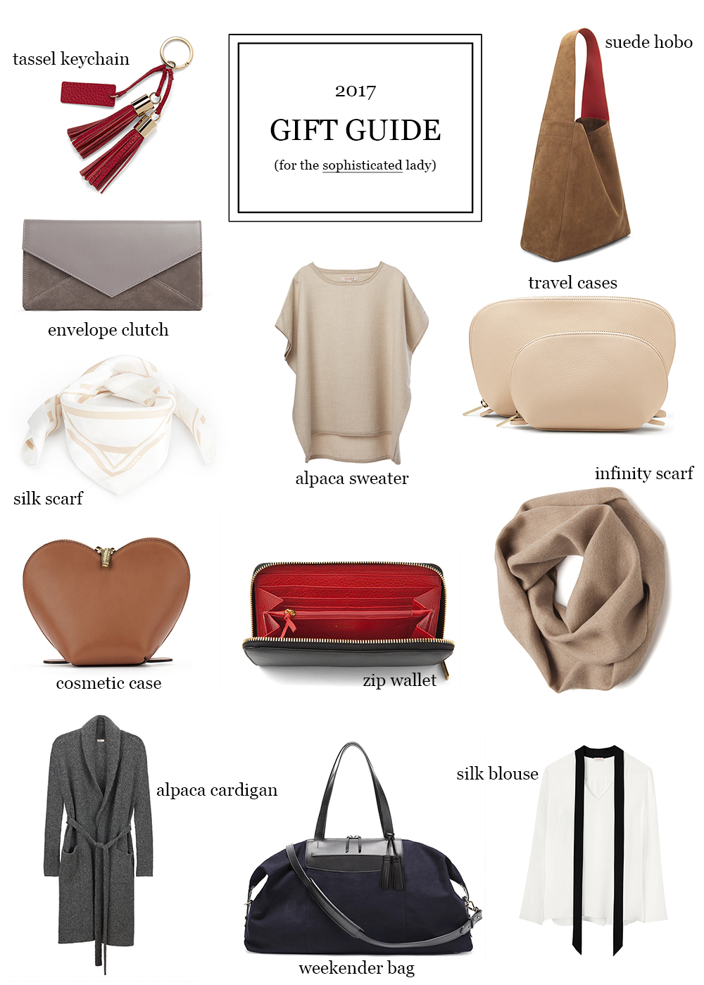 The Sophisticated Woman's Gift Guide