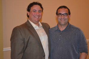 Vice President Eric Share of Ventnor and President Elect Marc Neumann of Margate