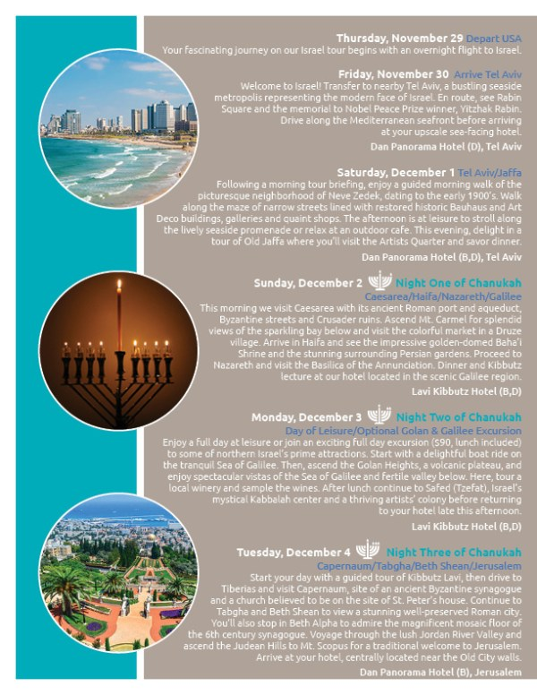 Israel Trip Booklet 2018 FB2