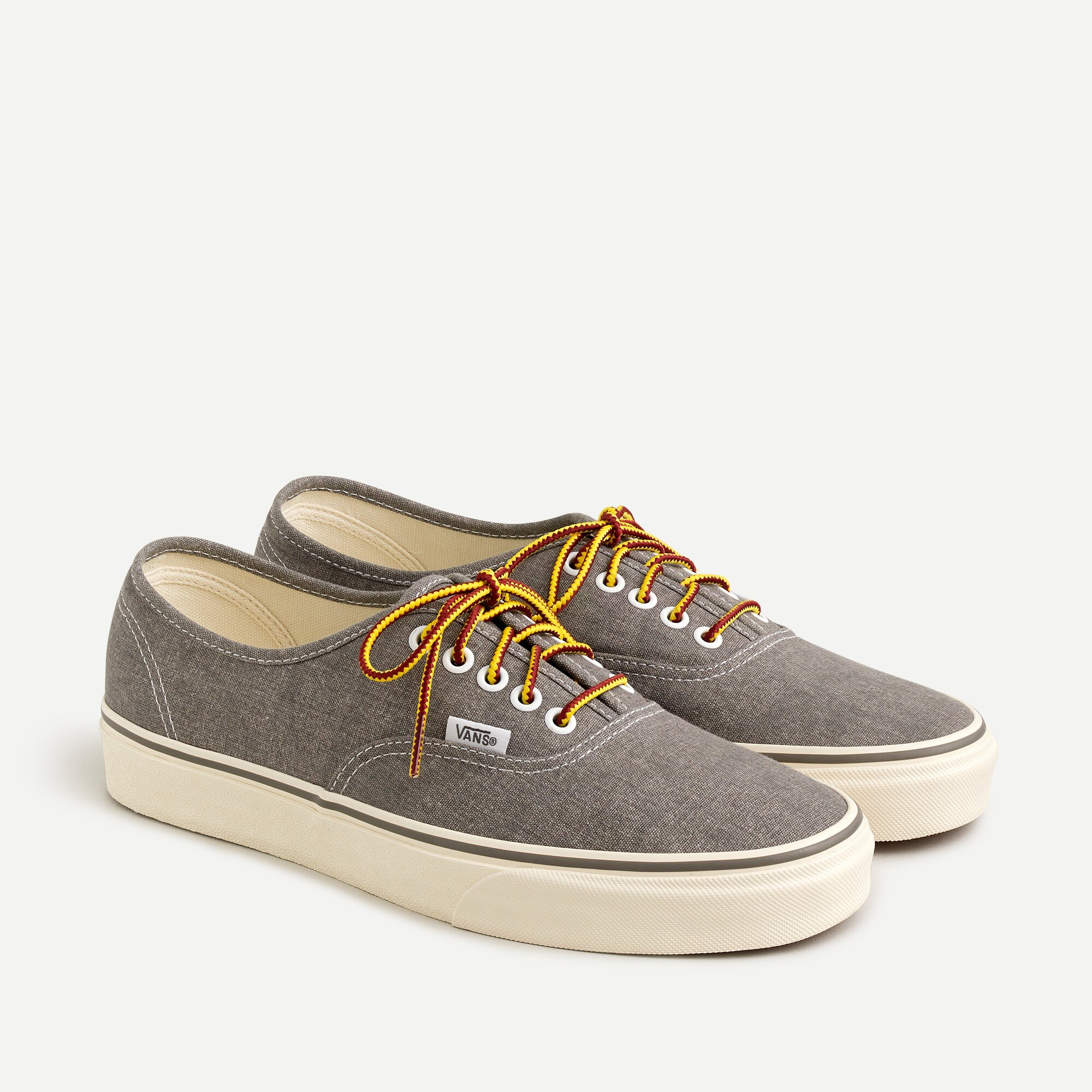Men s Vans     For J Crew Washed Canvas Authentic Sneakers   Men s     men s vans reg  for j crew washed canvas authentic sneakers   men s footwear