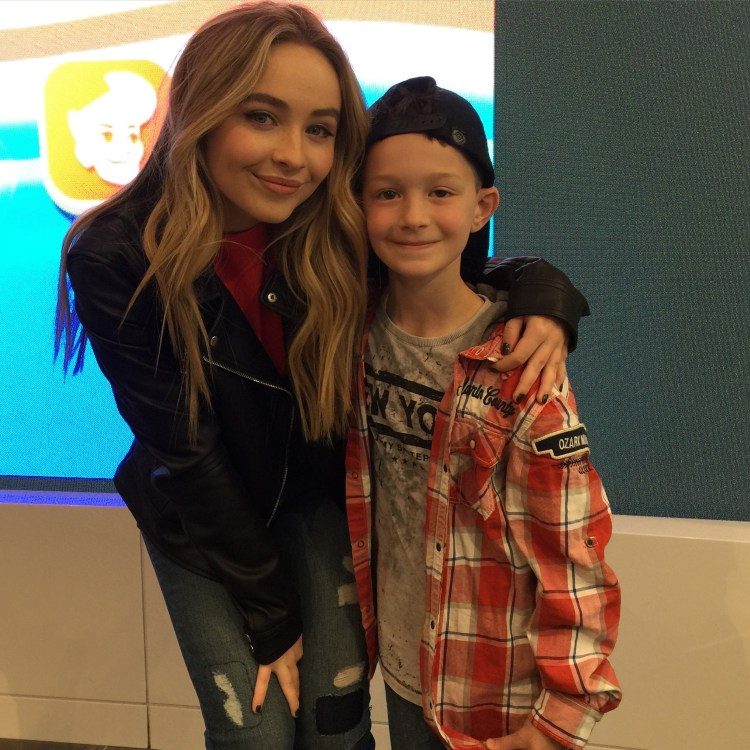 Sabrina Carpenter and JDP