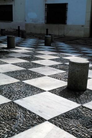 Checkerboard Courtyard