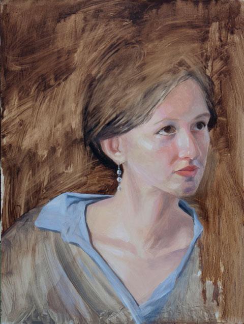 Portrait of Tess