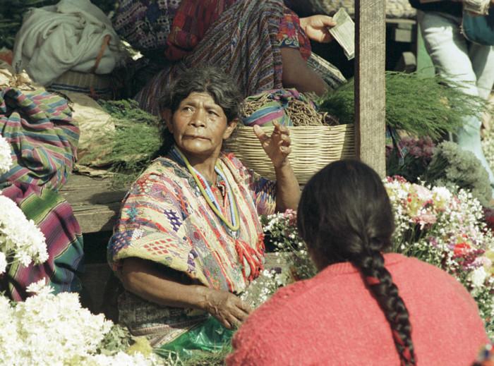Market Vendor, Guatemala City