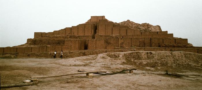 Ziggurat at Tchogha Zanbil, Iran