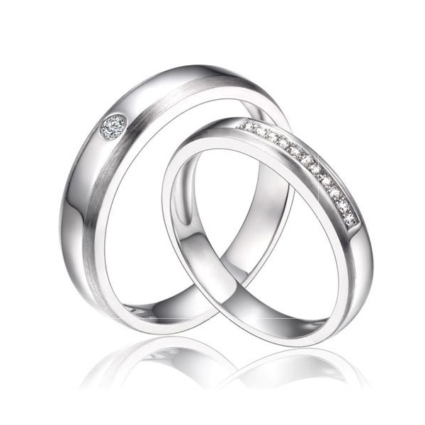 Image result for matching diamond bands