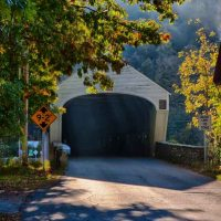 A 6 covered bridge day in New England Autumn