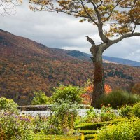 Vermont scenic drive to Hildene