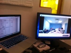 Remote design studio and collaborative sketching
