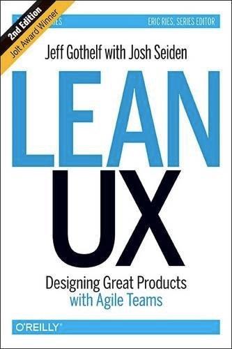Lean UX Second Edition