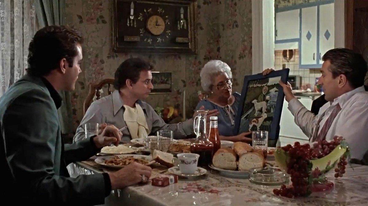Goodfellas Kitchen Scene Painting