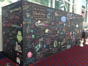 OSCON Chalkboard