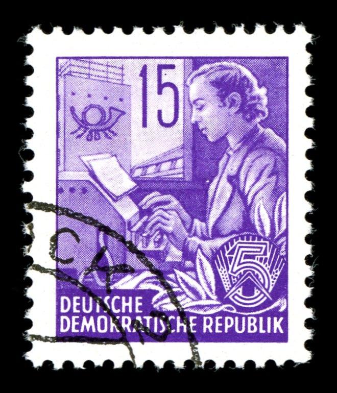 GermanTeletypeStamp1953-web