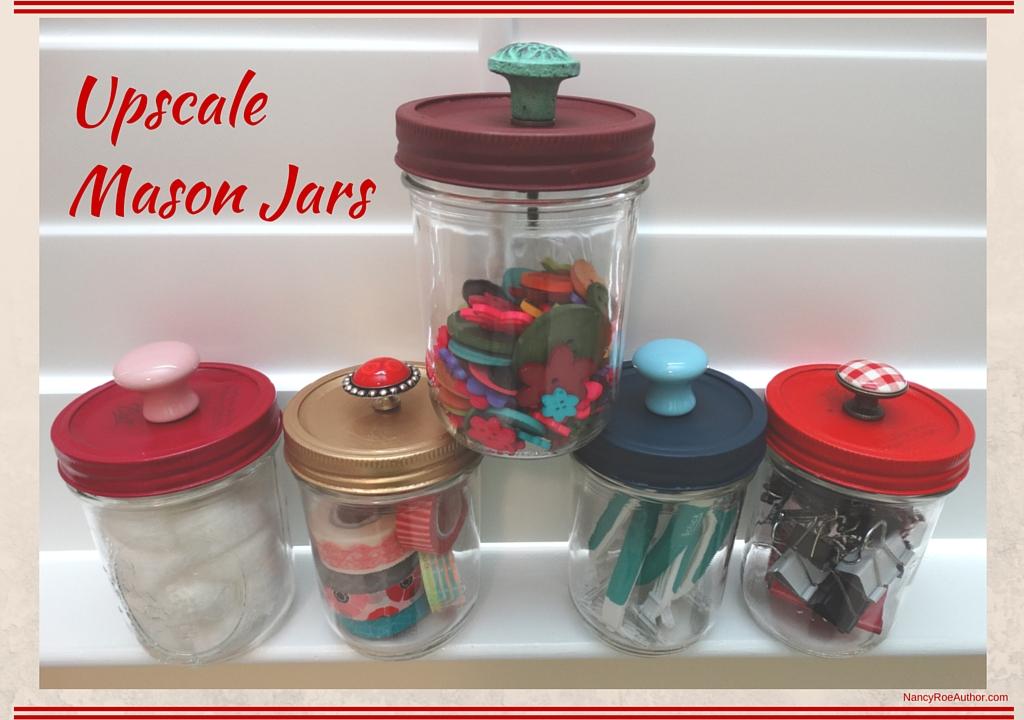 Upscale Mason Jars