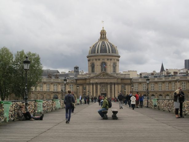Pedestrian Bridge over the Seine River