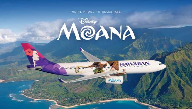 Hawaiian Airlines Moana Livery