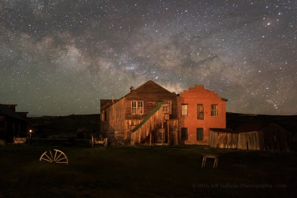 Milky Way Over Dechambeau Hotel