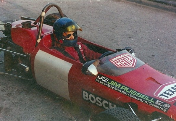 Formula Ford race in Zeltweg, year 1973