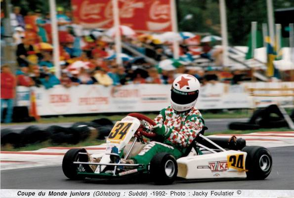 1992 - World Championship in Göteborg (Sweden)