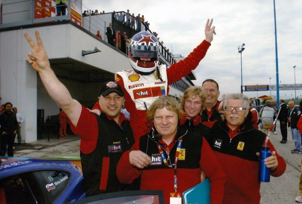 First win in Ferrari Challenge in Mugello (Italy)