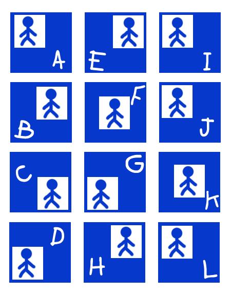 Blue Stickman 8