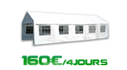 Location de tente de reception