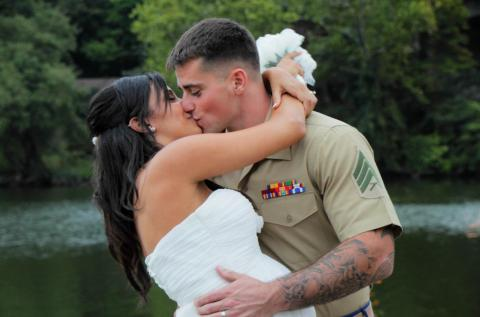 Tina and Cory: A wedding in historic Occoquan