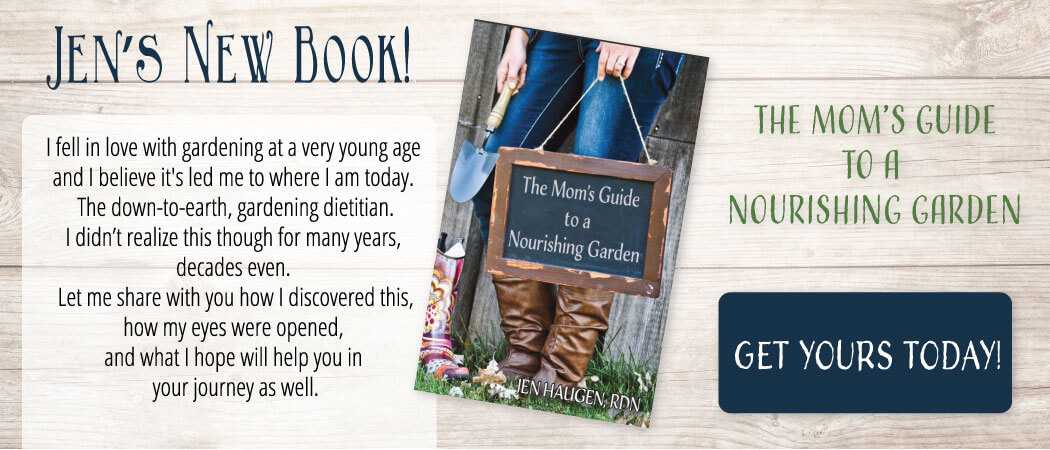 My New Book… Mom's Guide to a Nourishing Garden