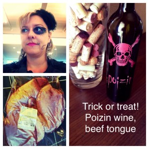 The only appropriate time to serve Poizin is Halloween!