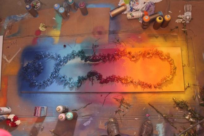 Jenna Citrus Art Rainbow Painting IMG_2342