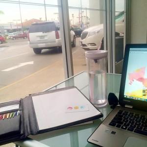 Mompreneur Office: Auto Dealership