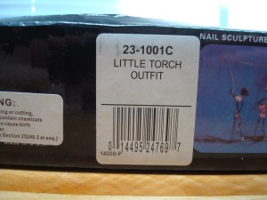 This is the barcode of the the fake torch.