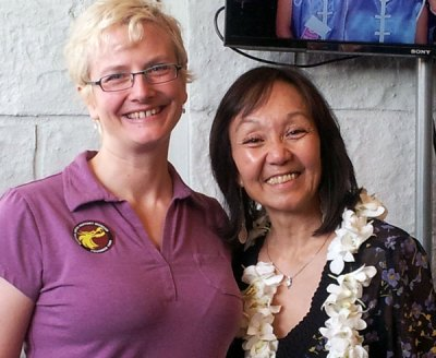 Me and Grandmaster Carrie Ogawa-Wong