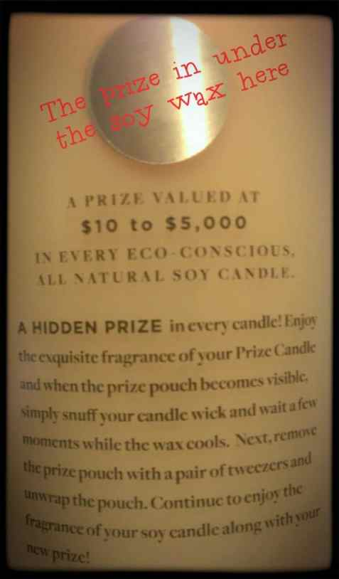 Prize Candle Pomegranate Passion Review Prize Candle Review: OMG You Have To Come See What I Got In My Candle! Prize Candle