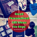 Great Personalized Gift Ideas For Boys
