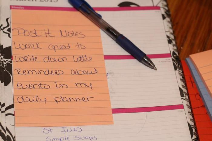 how to keep notes organized