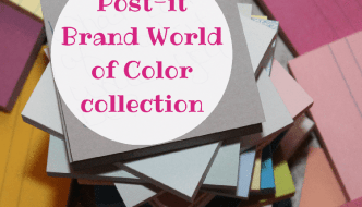 Post-it Brand World of Color Collection