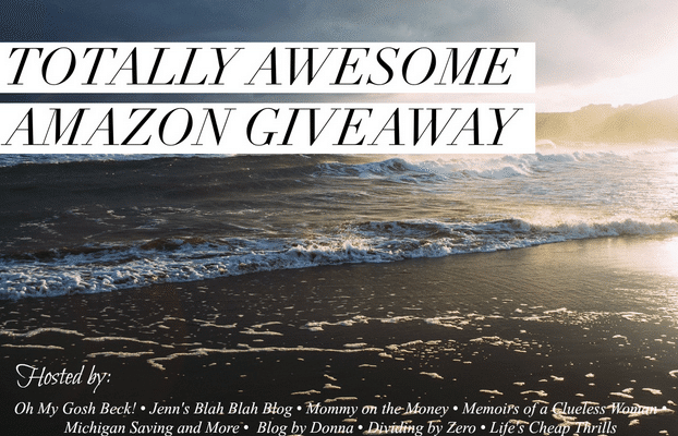 Don't Miss The $500 Totally Awesome Amazon Giveaway!