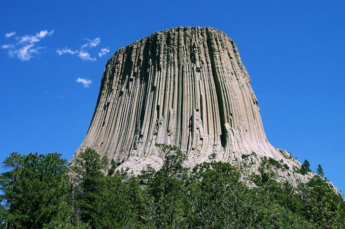 Mountains Located in Devil's Tower, Wyoming Five 'Must Climb' Rock Faces in North America