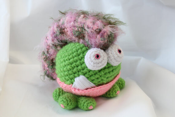 Amigurumi Monster Patterns : Etsy shop spotlight:TBoutiqueCritters