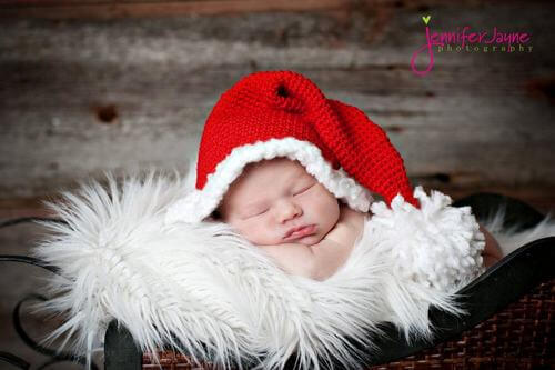 25 Free Crochet Santa Hat And Christmas Theme