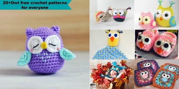 Free Amigurumi Patterns Uk : Owl free crochet patterns