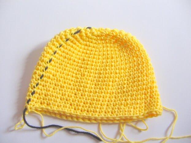 Giraffe Crochet Hat Free Pattern