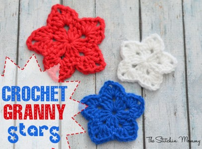 30+free easy crochet stars patterns