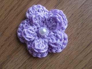 14.five petal small crochet flower tutorial how to