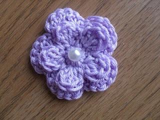 14.five petal small crochet flower tutorial how to