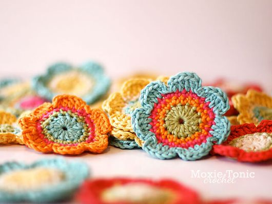 28. flower bloom crochet daisies easy how to tutorial free pattern