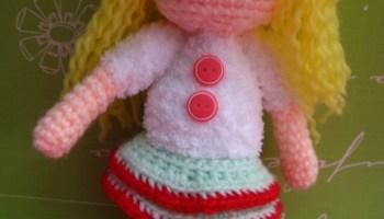 Amigurumi Doll Free Crochet Pattern : Sandy santa helper free amigurumi crochet pattern