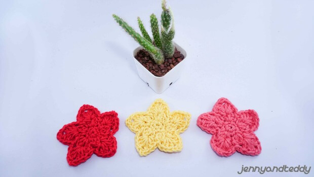 easy crochet star free pattern