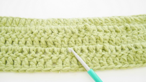 double crochet scraf free pattern